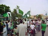 Azadi Celebrations In Gulshan-e-Hadeed (National Anthem)
