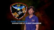 Expedition 27 Flight Engineer Cady Coleman Education Message