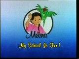 Meena Cartoon English (spot):  My school is fun