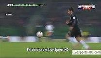 Goal Ribery Hamburger SV 0-3 Bayern Munich