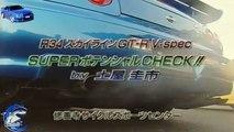 Keiichi Tsuchiya  Drifting  NISSAN SKYLINE R34