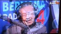 Mahathir denies trying to topple Najib