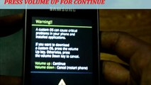 Repair Bricked Galaxy Y S5360 by Flashing Stock ROM using ODIN