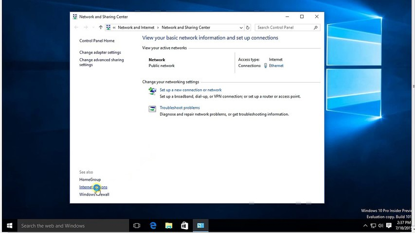 How to Change Public network to Home or Private in Windows 10