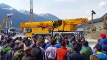 Liebherr RoadShow 2015 Tirol, Roppen, Tirol Part 3, Mercedes Benz-TruckStore