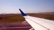 Take off Ukraine International Airlines Embraer ERJ-190 Rome-Kiev (UR-EME)
