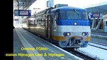 NS SGMm Omroep: station Nijmegen Lent + Nijmegen