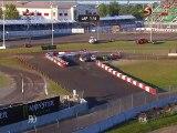 WRX 2015 Rallycross Solberg Hansen Big Start crash Canada Trois Rivieres