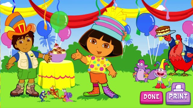 Dora The Explorer Super Silly Costume Maker Animation Nick Jr Nickjr Game Play Gameplay