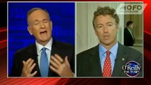 Rand Paul rudely interrupts Bill O'Reilly's interview with Bill O'Reilly
