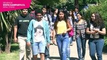 Nuevos alumnos inician sus clases en la Universidad de Talca