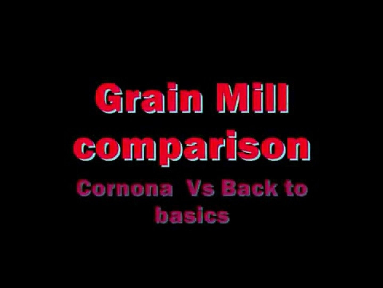 Grain mill comparison