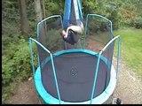 Cool trampoline tricks 2 double backflip double frontflip
