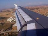 Iberia A320-200 Very Smooth Landing At Madrid Barajas Airport