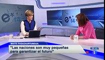 Maite Pagazaurtundua - Los Desayunos de TVE - 19.mayo.2014