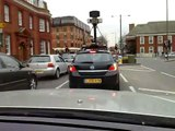 Google Street View Camera Car Gets GOOGLED in Bromley Kent UK