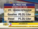 Power, fuel price hikes loom as Christmas nears