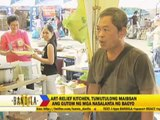 Volunteers cook for typhoon survivors