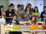 Yeng promotes show for 'Yolanda' victims