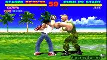 Tekken 1 (Console Edition) - Kazuya Mishima - Arcade Mode + Ending - HD