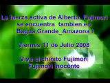 12 de Julio 2008_Con vivas y aplausos Bagua Grande recibe a Kenji Fujimori