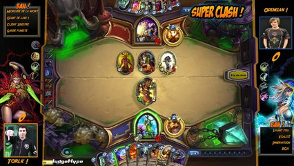 SuperClash HearthStone : Torlk vs Odemian