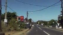 Mauritius -Driving to Flic en Flac beach resort