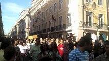 """Manifestação 29 de Setembro de 2012 - Lisboa - Chegada ao """"Terreiro do Povo"""""""