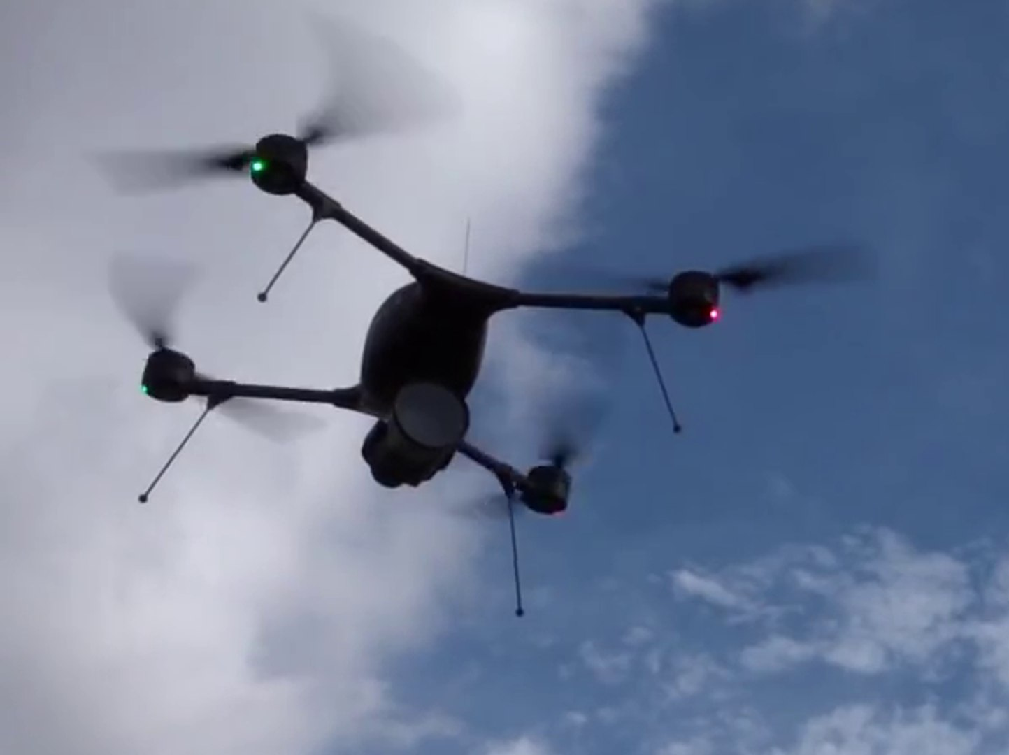 Procerus Indago VTOL Quadcopter Drone with HD 30X Camera Payload
