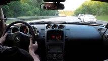 Une Nissan 350Z Procharger et une Porsche 991 GT3 se font ridiculiser lors d'une course sauvage sur autoroute