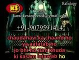 Chauhdavi Ka Chaand Ho Yaa Aaftaab Ho_ Video Karaoke With Scrolling Lyrics