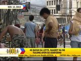Gov't says help reached 40 towns in Leyte