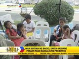 Homeless typhoon survivors arrive in Manila