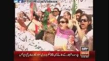 PTI Karachi Peaceful Protest Outside Press Club Karachi (May 26, 2015)
