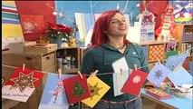 Dekotipp für Weihnachten: Karten individuell selbst gestalten und basteln