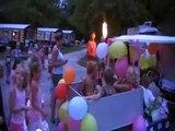 retraite aux flambeaux  au camping des lacs