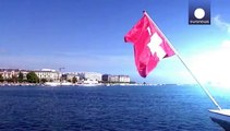 Franco troppo forte, l'economia svizzera frena: -0,2%