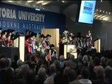 Valedictorian speech, Victoria University graduation, 2012