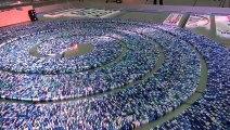 275.000 Domino taşı ile muhteşem bir gösteri