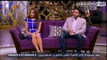 لقاء شريف رمزى و زوجته ريهام امين في برنامج معكم منى الشاذلي على قناة CBC مع الاعلامية منى الشاذلي
