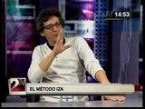 Miguel Iza critica lucidamente a los noticieros y televisión nacional