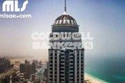 the tallest residential tower in the world . Unfurnished 1 BR full Marina view near to the highest floor for rent only   AED 113k - mlsae.com