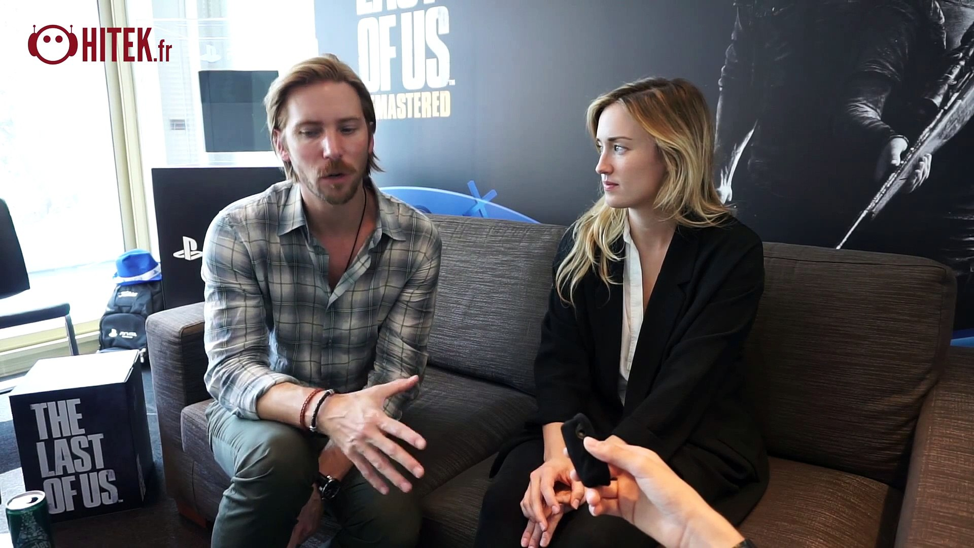 The Last of Us Remastered - Gameplay + Interview de Troy Baker et Ashley Johnson