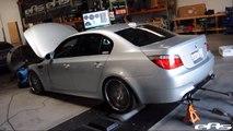 eas | 2010 BMW M5 Eisenmann Sport Exhaust Dyno