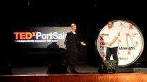 Clifford Feltner (Amin Abdalla) at TEDxPortSaid