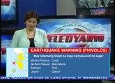 Emergency Warning System : Earthquake Warning Mockup 01-PHL
