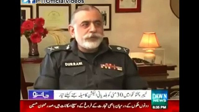 IG Nasir Durrani explains what will be the connection between elected members of District Councils and Police
