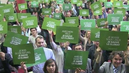 EELV décrète la mobilisation générale pour le climat