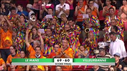Résumé MSB - ASVEL belle quart playoffs 2015