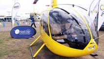 Avalon Airshow 2011 : The Robinson R66 Turbine Helicopter